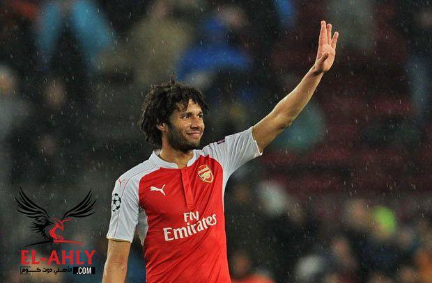 محمد النني ضمن ترشيحات افضل لاعب في شهر يناير بالارسنال