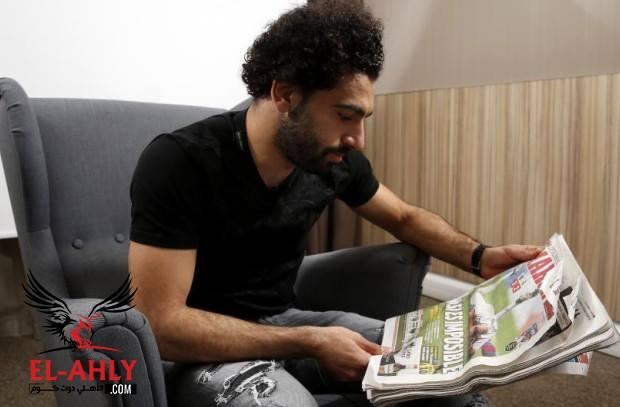 محمد صلاح يتحدث لماركا عن منافسته لكين وحلمه مع مصر في المونديال
