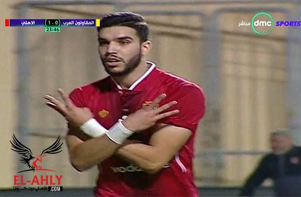 """""""دستة"""" ازارو تكتمل .. المغربي يسجل في المقاولون ويصل لصدارة هدافي الدوري العام"""
