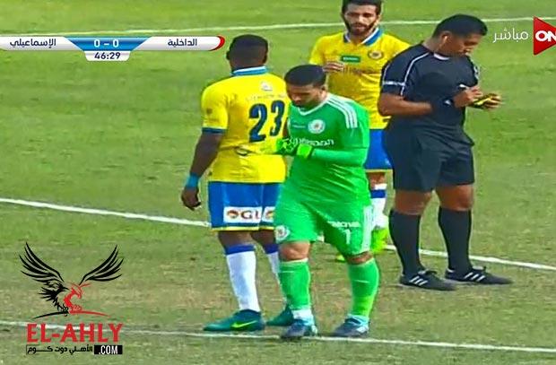إصابة محمد عواد أمام الداخلية ويرفض الخروج إلا بعد إيقافه