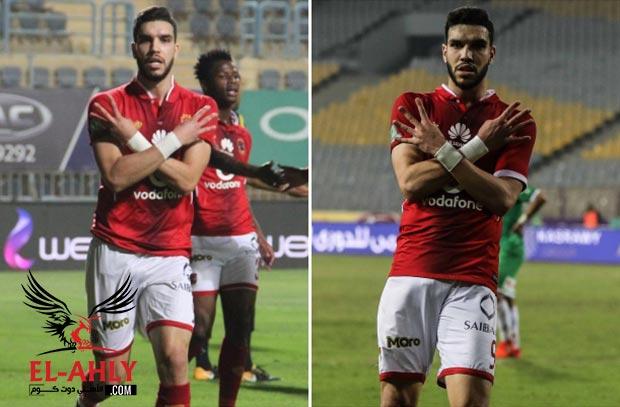 أزارو يكشف عبر El-Ahly.com سر إحتفاله بالأربعة والثلاثة