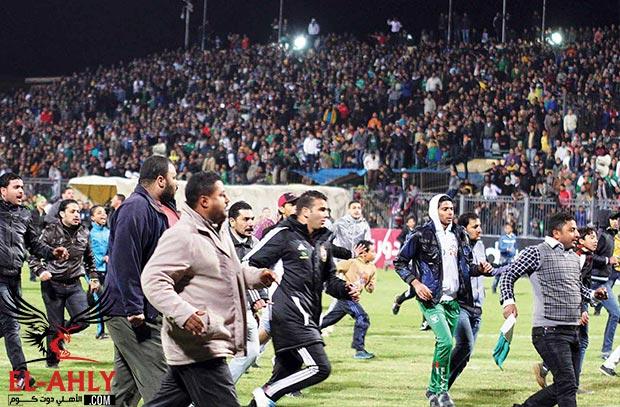 الأهلي وكل الأندية لم يستجيبوا لدعوة حضور مباراة المصري على ملعب المجزرة
