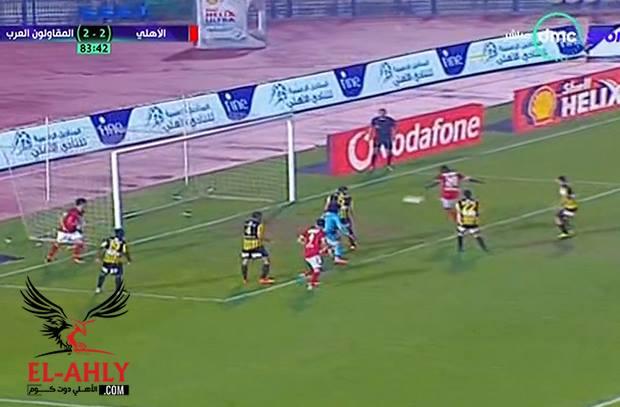 ابو السعود يفقد بريقه ويمحوا تألقه ويهدي الأهلي هدفه الثالث