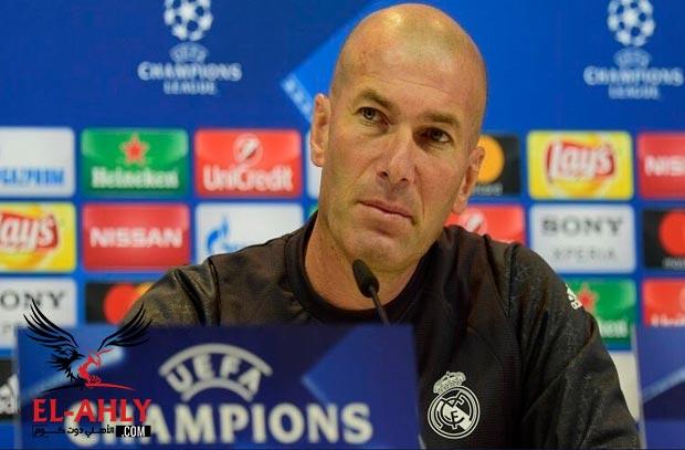 زيدان عن مواجهة باريس: سعيد بإدارة تلك المباريات ويختار زميله في الملاعب لتدريب الريال في المستقبل