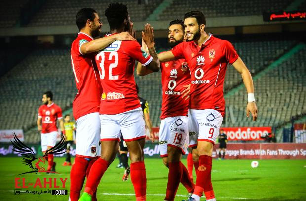 5 حقائق عن فوز الأهلي على المقاولون العرب