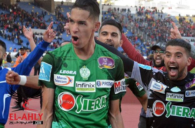 جاريدو يقود الرجاء لصدارة الدوري المغربي بفوز درامي على خريبكة