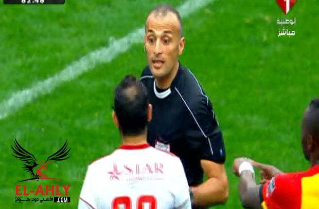 الاتحاد التونسي يقرر إيقاف حكم مباراة الترجي والنجم لنهاية الموسم