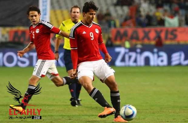 عمرو جمال خارج منتخب مصر
