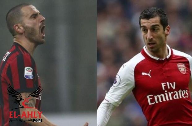 أبرز مباريات اليوم: صدام ميلان وأرسنال وأتلتيكو ضد لوكوموتيف بالدوري الأوروبي