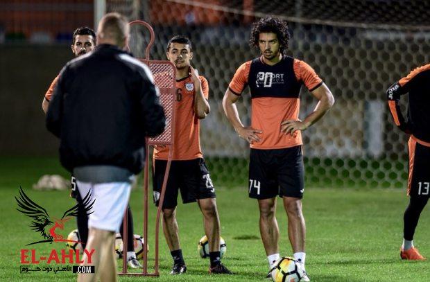 مدرب جديد لعمرو بركات في الشباب السعودي