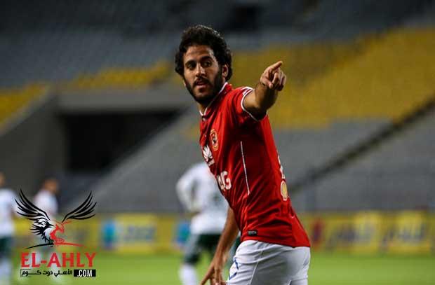 مروان يعود للدكة ونجيب يغادر قائمة الفريق في مواجهة نادي انبي