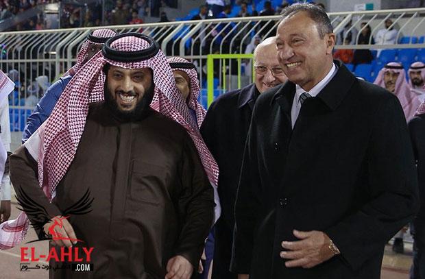 موعد الزيارة الرسمية الأولى لتركي آل الشيخ للنادي الأهلي