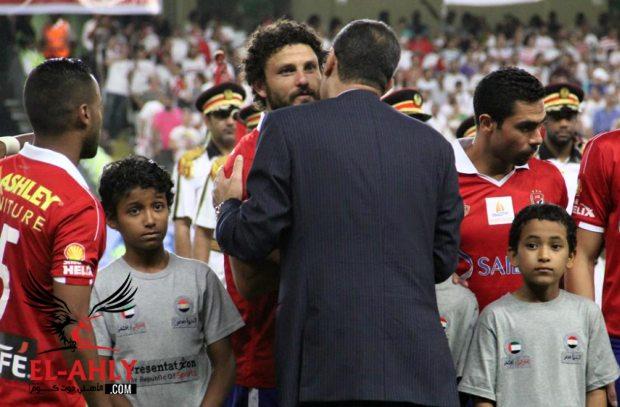 عماد وحيد لغالي: تعرف إيه عن الأهلي ومُثل الأهلي .. محمود طاهر أحسن معاملتك