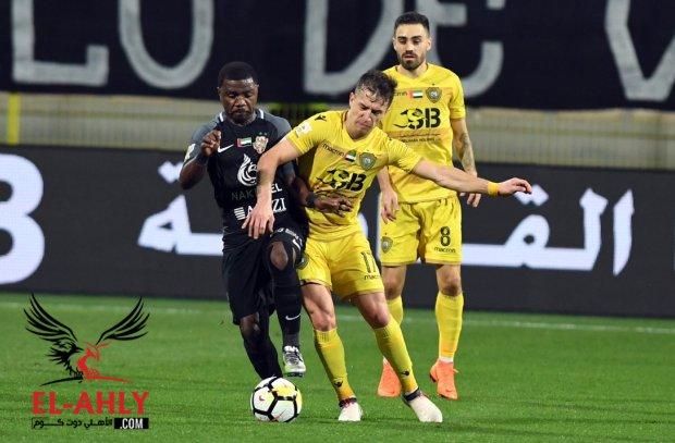 الوصل يهزم شباب أهلي دبي في مباراة شهدت 13 كارت وهدف قاتل