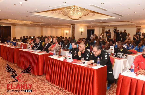 قرعة بطولة أفريقيا للطائرة .. الأهلي ضد نيمو الأوغندي بالافتتاح وولايتا ديتشا بالمجموعة الرابعة