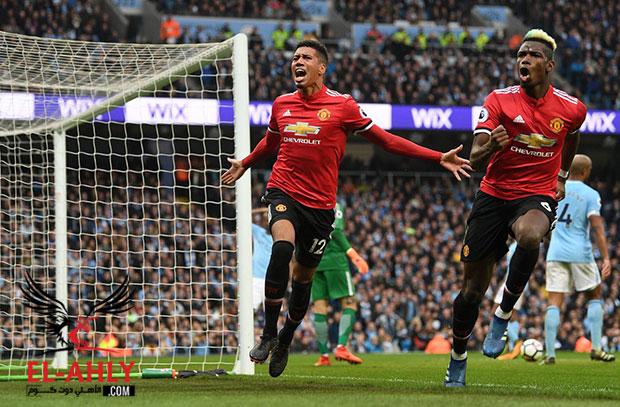 """مانشستر """"حمراء"""".. يونايتد يقلب الطاولة ويهزم السيتي ويؤجل احتفاله بالدوري"""