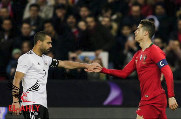 كيف احرج كريستيانو رونالدو لاعبي منتخب مصر في سويسرا؟