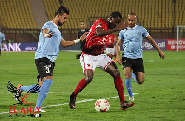 في شوط أول سلبي نتيجةً وأداءً .. الأهلي والداخلية 0-0