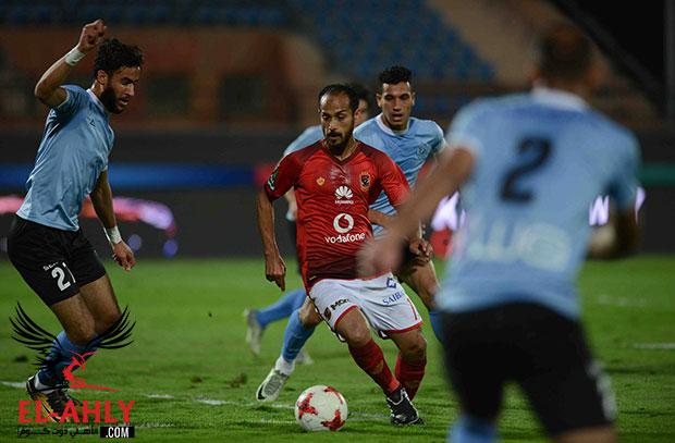 ثنائية محارب والسولية تقود الأهلي لربع نهائي كأس مصر