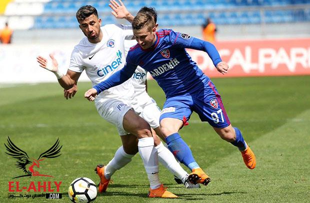 بفضل تريزيجيه .. قاسم باشا يحقق رقم إيجابي لأول مرة في الدوري التركي