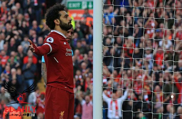 محمد صلاح على بعد خمسة اهداف ليصبح أعظم لاعب في إنجلترا