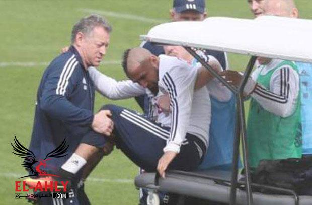 ضربة موجعة قبل مواجهة ريال مدريد .. إصابة فيدال