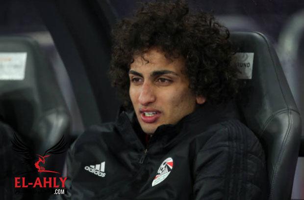 عمرو وردة لن يعود للنادي الأهلي