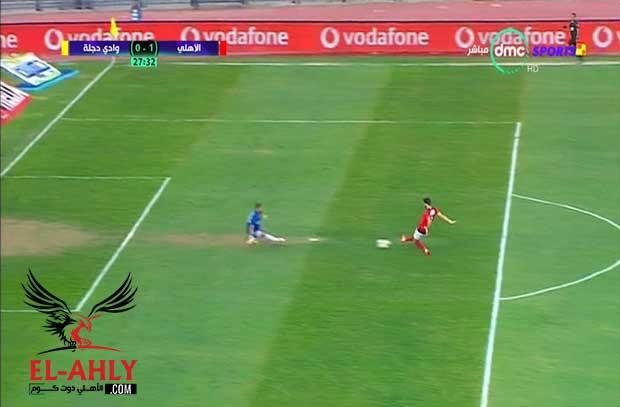 عاد ازارو وعادت أهدافه .. المرعب المغربي يسقط دجلة بالهدف الأول