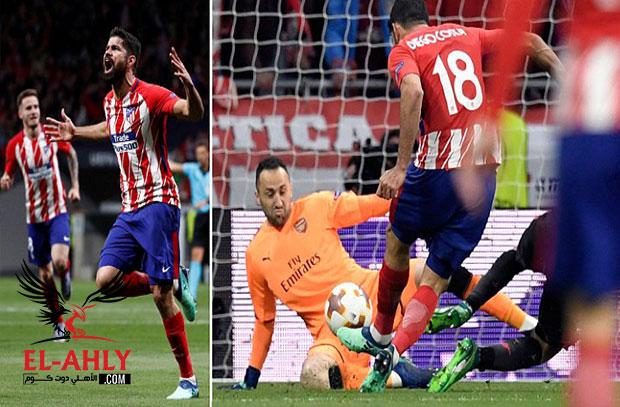 في اخر ليالي فينجر الأوروبية.. الارسنال يودع الدوري الأوروبي بالخسارة امام اتلتيكو مدريد