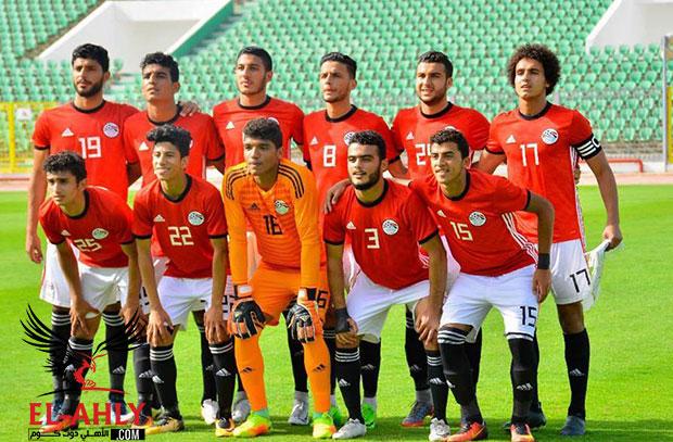 منتخب مصر للشباب يعود بتعادل ثمين من السنغال