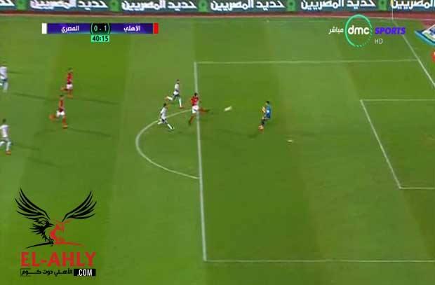 بعد لقطة رائعة من محمد شريف.. أحمد حمدي يضيع انفراد كامل بمرمي المصري