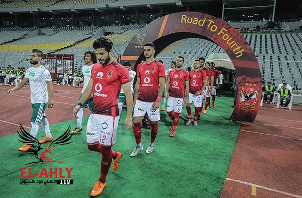 5 أمور تحدث لأول مرة في مباراة الأهلي امام المصري بالدوري العام