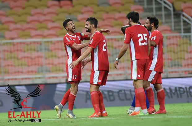 النجمة اللبناني يفوز على الأفريقي ويواجه الأهلي في دور الـ 32 بالبطولة العربية