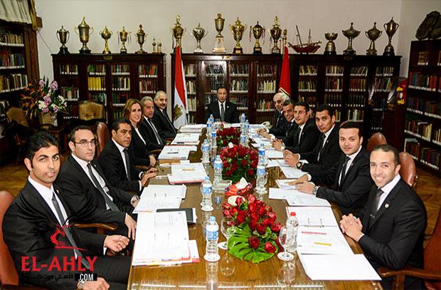 قرارات مجلس الأهلي: غالي عضو في لجنة الكرة  وتعيينات مختلفة ورفع رأس مال شركة الأهلي للإعلام