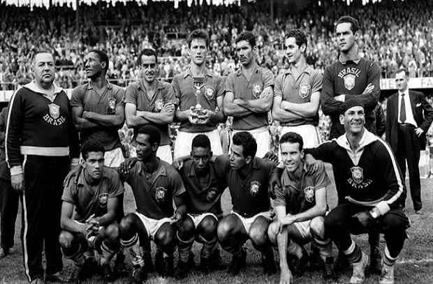 حكاية نهائي 6 .. 1958 البرازيل تفوز باللقب الأول ومدرب السويد يكتب رقم جديد