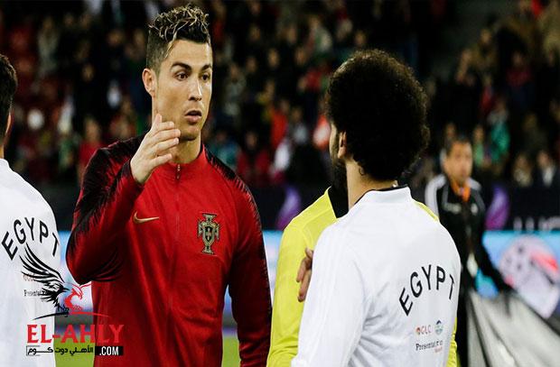 رونالدو: اتمني الا تتسبب إصابة صلاح في ابتعاده عن المنافسة على أفضل لاعب بالعالم