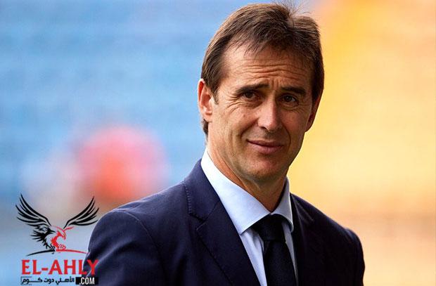 ريال مدريد يعلن تعيين مدرب المنتخب الاسباني خلفًا لزيدان