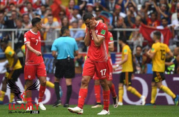 """صور مباراة تونس وبلجيكا """"الغزيرة بالأهداف"""""""