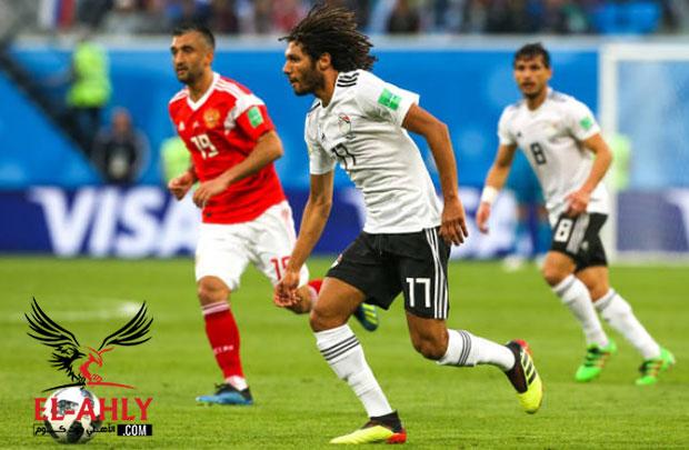 النني: لا نريد الرحيل من روسيا بدون فوز .. ونسعى لاسعاد المصريين أمام السعودية