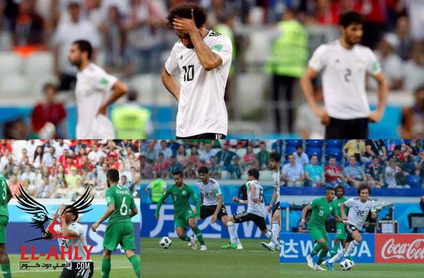 شاهد احباط وحزن بعد الخسارة الثالثة للمنتخب في كأس العالم