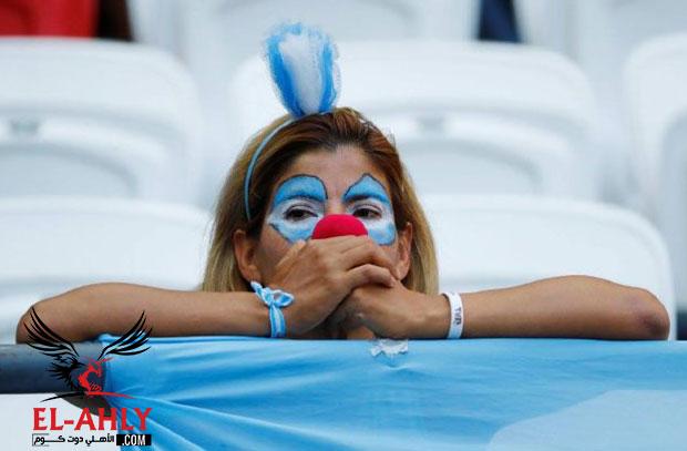 جماهير الأرجنتين وفرنسا .. مواجهة بدأت بالقبلات وانتهت بالدموع