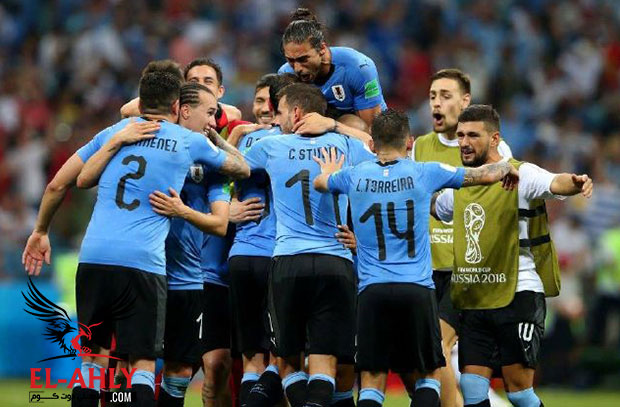 شاهد صور الإثارة والقوة في مباراة أوروجواي والبرتغال بكأس العالم