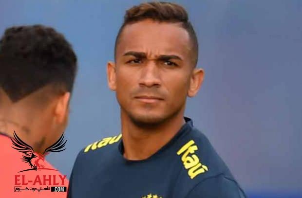 نهاية مشوار دانيلو مع البرازيل في كأس العالم