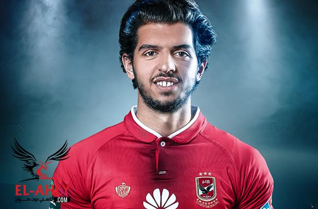 الشباب السعودي ينهي إعارة عمرو بركات واللاعب ينتظم في تدريبات الأهلي