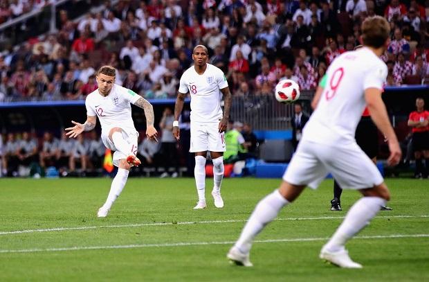 شاهد الهدف الأول لإنجلترا في مرمى كرواتيا بأقدام تريبييه