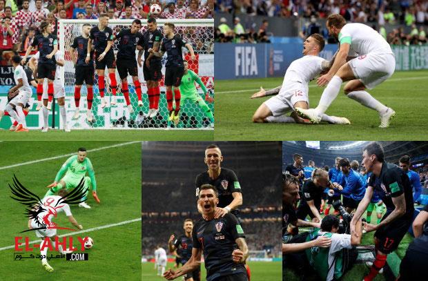 شاهد تأهل تاريخي لكرواتيا بعد فوز قاتل علي انجلترا في نصف نهائي كأس العالم