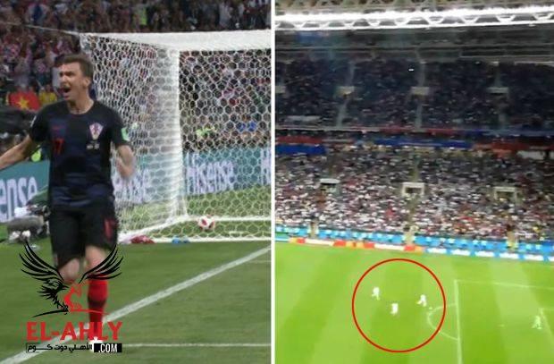 شاهد محاولة إنجليزية لخداع كرواتيا وتسجيل هدف تاريخي أثناء إحتفالهم بالتقدم
