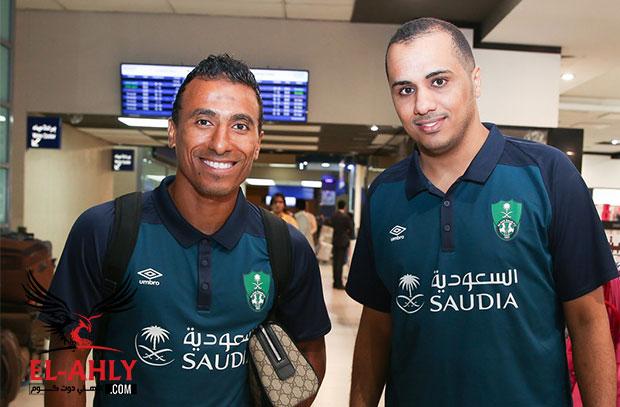 عبد الشافي والسعيد في قائمة الأهلي السعودي بمعسكر النمسا