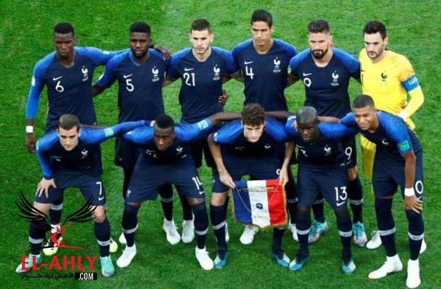 الكشف عن قيمة مكافأة كل لاعب بالمنتخب الفرنسي بعد التتويج بكأس العالم