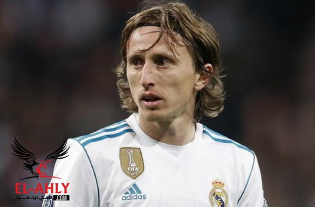 رئيس ريال مدريد يحدد مبلغ خيالي لانتقال مودريتش لانتر ميلان